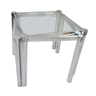 Milo Baughman Style Stacking Tables - A Pair