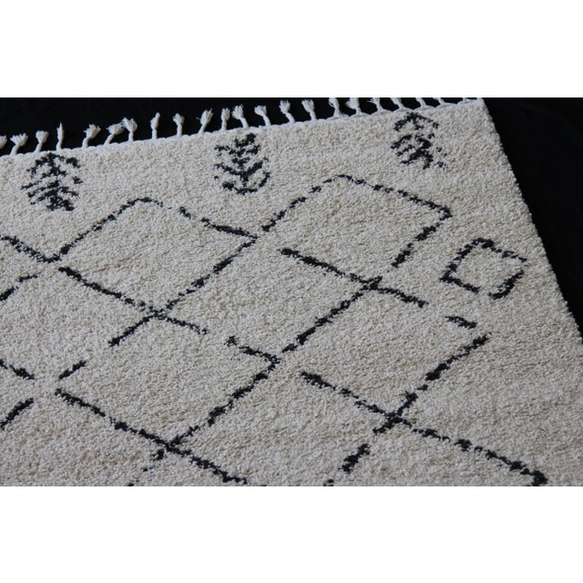 Contemporary Plush Rug with Moroccan Design - 8' x 11' - Image 5 of 9