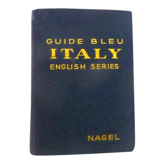 1949 Guide Book to Italy, With Maps For Sale