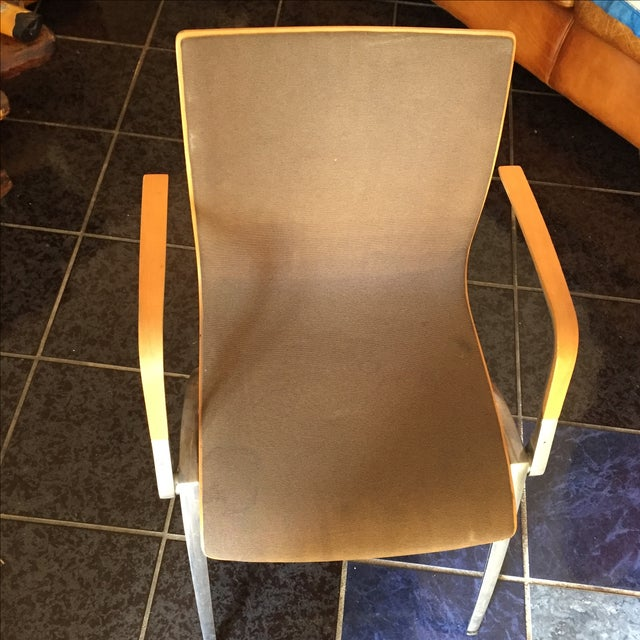 Davis Furniture Industries Brown Chairs - A Pair - Image 7 of 11