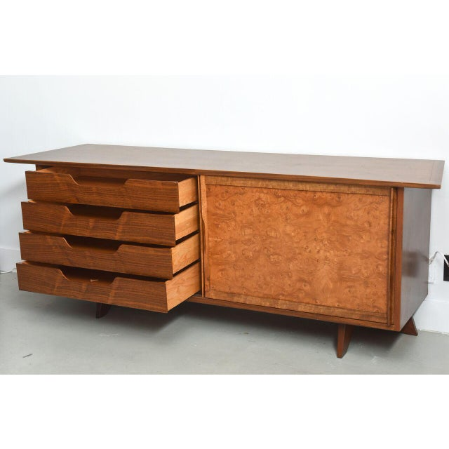 American Modern Two-Door Credenza, by Nakashima For Sale - Image 9 of 10