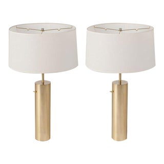 Nessen Table Lamps - a Pair For Sale