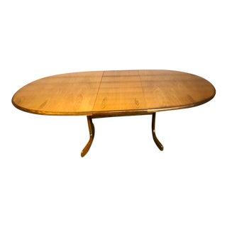 Mid Century Modern G Plan Fresco Teak Expandable Dining Table For Sale