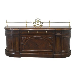 20th Century Art Nouveau Karges Walnut Sideboard For Sale