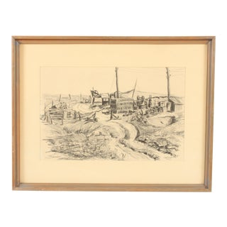 Countryside Pencil Drawing