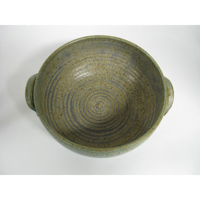1970s 1970s Mid Century Modern Studio Pottery Bowl For Sale - Image 5 of 13