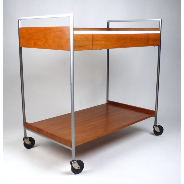 Rare Server designed by George Nelson for Herman Miller. Server is in excellent original condition and has the original...