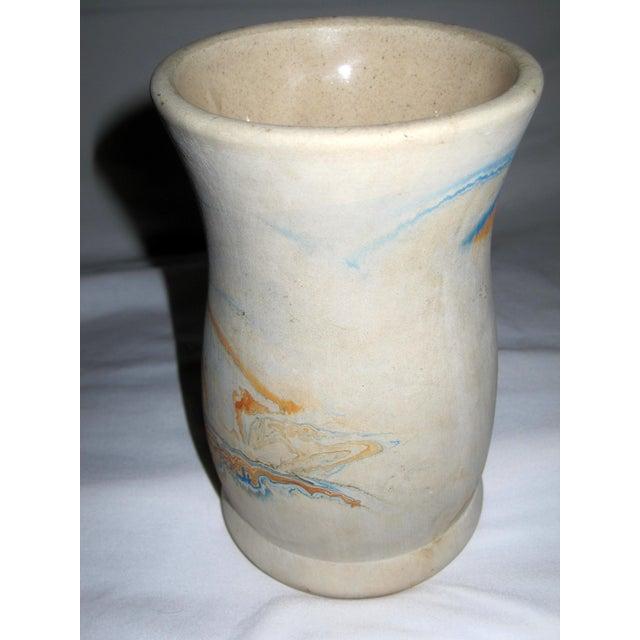 Vintage Nemadji Art Pottery Vase - Image 4 of 11