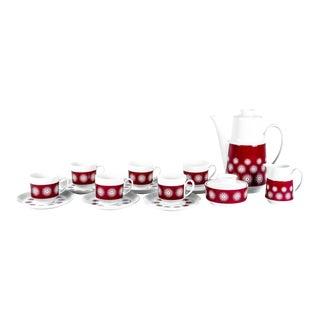 Vintage German Tea/Coffee Set for Six For Sale