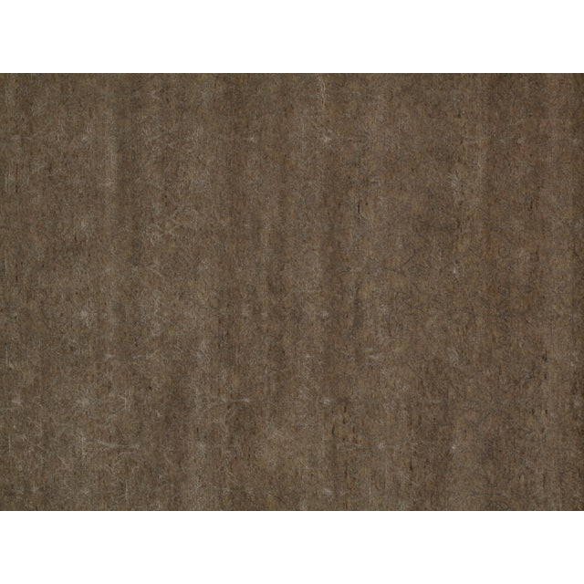 Stark Studio Rugs Stark Studio Rugs Contemporary Oriental Wool and Bamboo Silk Rug - 12' X 15' For Sale - Image 4 of 5