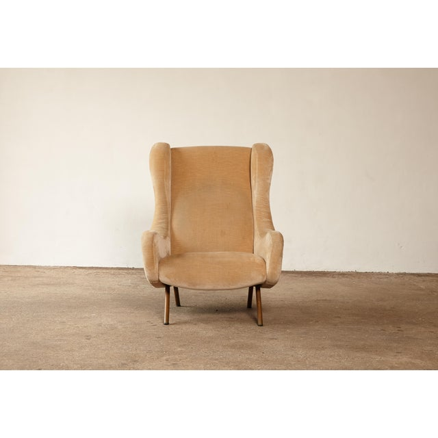 Arflex 1960s Mid-Century Modern Marco Zanuso for Arflex Senior Chair For Sale - Image 4 of 12