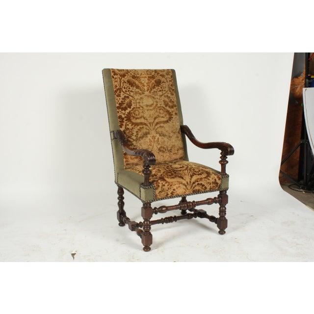 1890s Renaissance Revival-Style Armchair For Sale - Image 10 of 10