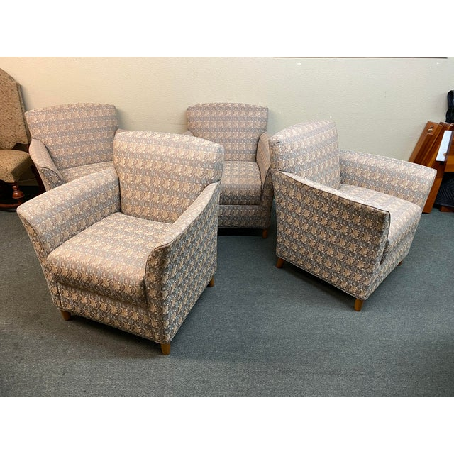 Bernhardt Custom Accent Chairs - a Pair For Sale - Image 9 of 13