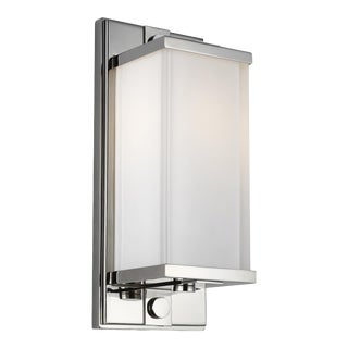 Thomas O'Brien by Generation Lighting Logan Sconce, Silver For Sale