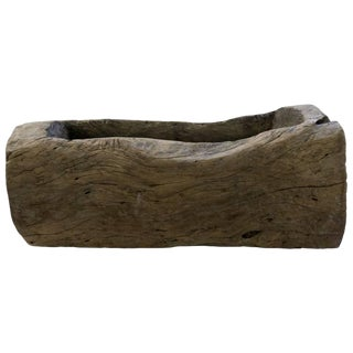 Rustic Wood Trough For Sale