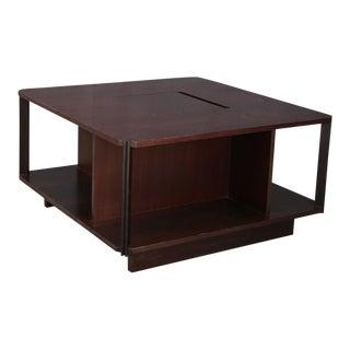 Gianfranco Frattini Bar and Magazine Table. For Sale