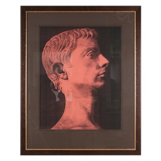 Original Xerography Print of Busts From Antiquity X For Sale