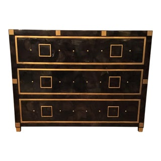 Currey and Co. Deco Pen Shell Chest - A Pair