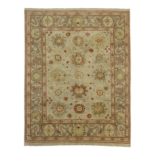 Contemporary Oushak Rug - 07'11 X 09'10 For Sale