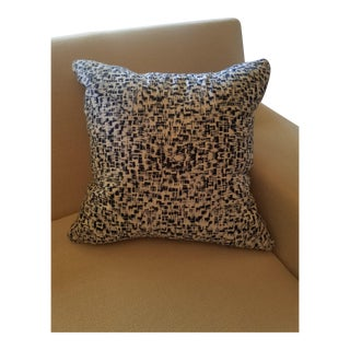 Blue and White Miter Pillow