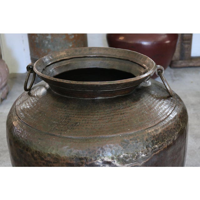 Mid 19th Century Vintage Copper Pot For Sale - Image 5 of 6