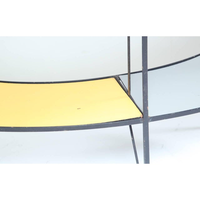 1950s Fredric Weinberg E-Shaped, Coloured Shelf Unit For Sale - Image 5 of 6