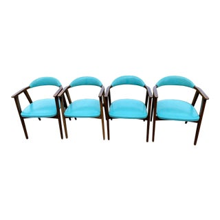 1950s Vintage Thonet Chairs- Set of 4 For Sale