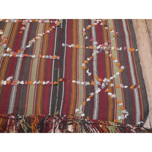 Pardah (curtain) with ribbons For Sale - Image 5 of 8