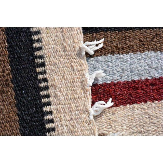 Arts & Crafts Vintage Indian Blanket, Wall Tapestry Decoration For Sale - Image 3 of 7