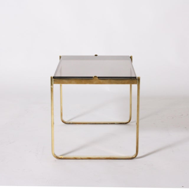 Bronze nesting table by Jacques Quinet, c. 1960