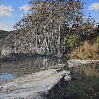 "Garrett Middaugh ""Frio River"" Oil Painting For Sale"