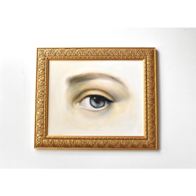 Contemporary Contemporary Lover's Eye Oil Painting by Susannah Carson For Sale - Image 3 of 7