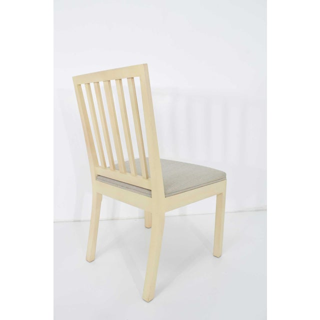 Dining Chairs Attributed to Rose Tarlow for Melrose House - Set of 6 For Sale In Dallas - Image 6 of 7