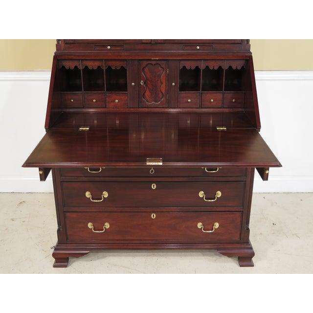 Henkel Harris Chippendale Mahogany Secretary Desk For Sale In Philadelphia - Image 6 of 11