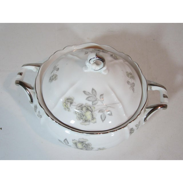 Boho Chic Edelstein Co. German Round Covered Vegetable Tureen For Sale - Image 3 of 7