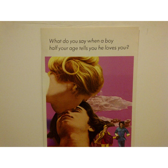 """""""40 Carats"""" Vintage Movie Poster For Sale - Image 4 of 5"""