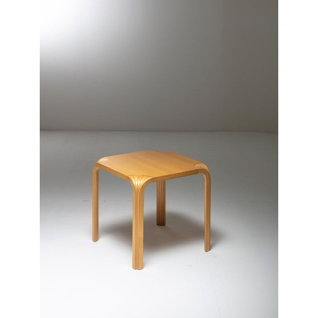 1970s Pair of X602 Stools by Alvar Aalto for Artek For Sale - Image 5 of 5