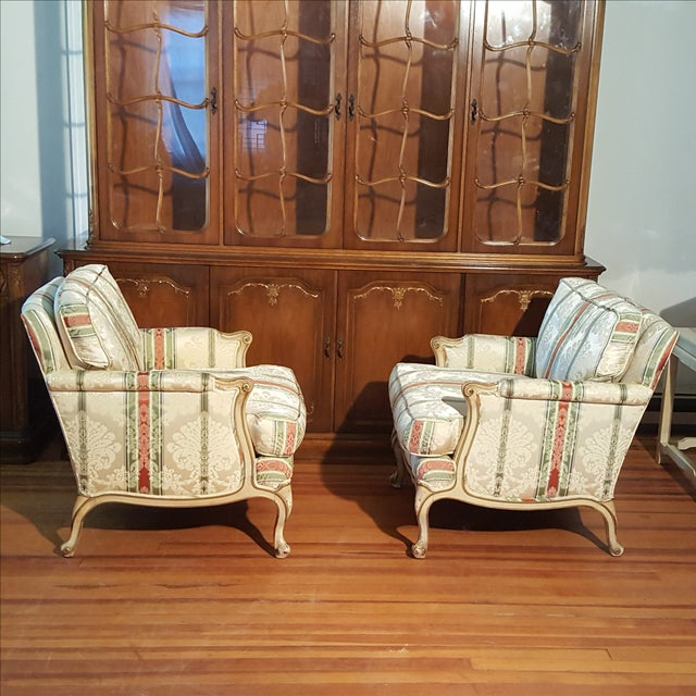 19th Century French Prov. Club Chairs - a Pair - Image 4 of 11
