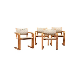 Chairs With Beech Armrests by Rud Thygesen and Johnny Sørensen- Set of 4 For Sale