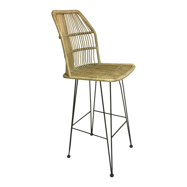 Enjoyable Louis Rattan Bar Stool Squirreltailoven Fun Painted Chair Ideas Images Squirreltailovenorg