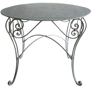 Late 19th Century French Garden Table From Provence For Sale