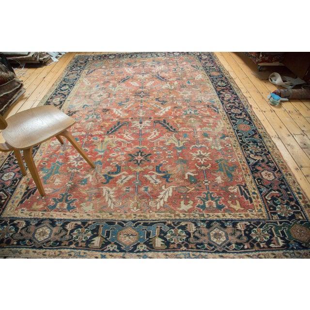 "Vintage Heriz Carpet - 8'3"" X 11'3"" - Image 7 of 10"