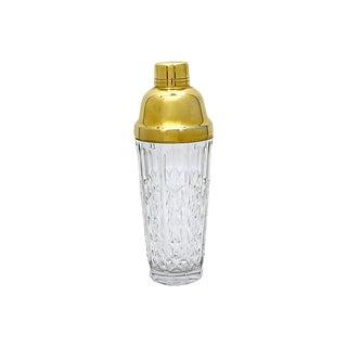 1950s Val Saint Lambert Crystal Shaker For Sale