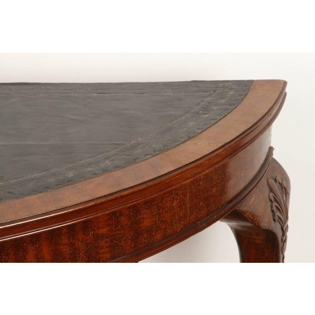 19th Century English demilune table For Sale - Image 10 of 10