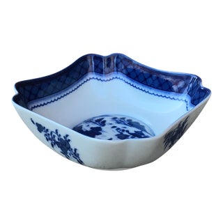 Mottahedeh Blue Canton Porcelain Bowl For Sale