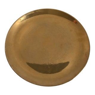 Original Hazel Hannell Pottery Gold Plate