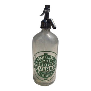 Vintage Friedberg Beverages Sparkling Water Dispenser For Sale