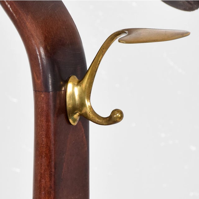 Mid Century Modern Italian Gentleman's Valet by Ico Parisi for Fratelli Reguitti - Image 2 of 11