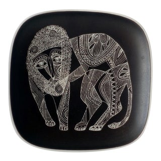 Rosenthal Studio-Linie Lion Plate For Sale
