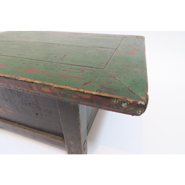 Japanese Low Writing Desk - Image 7 of 7